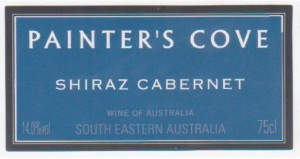 Painters Cove Shiraz Cabernet - Sydney AFL Fine WineWine Label
