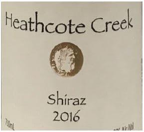 Heathcote Shiraz