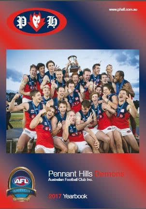 Pennant Hills AFL Club 2017 Year Book