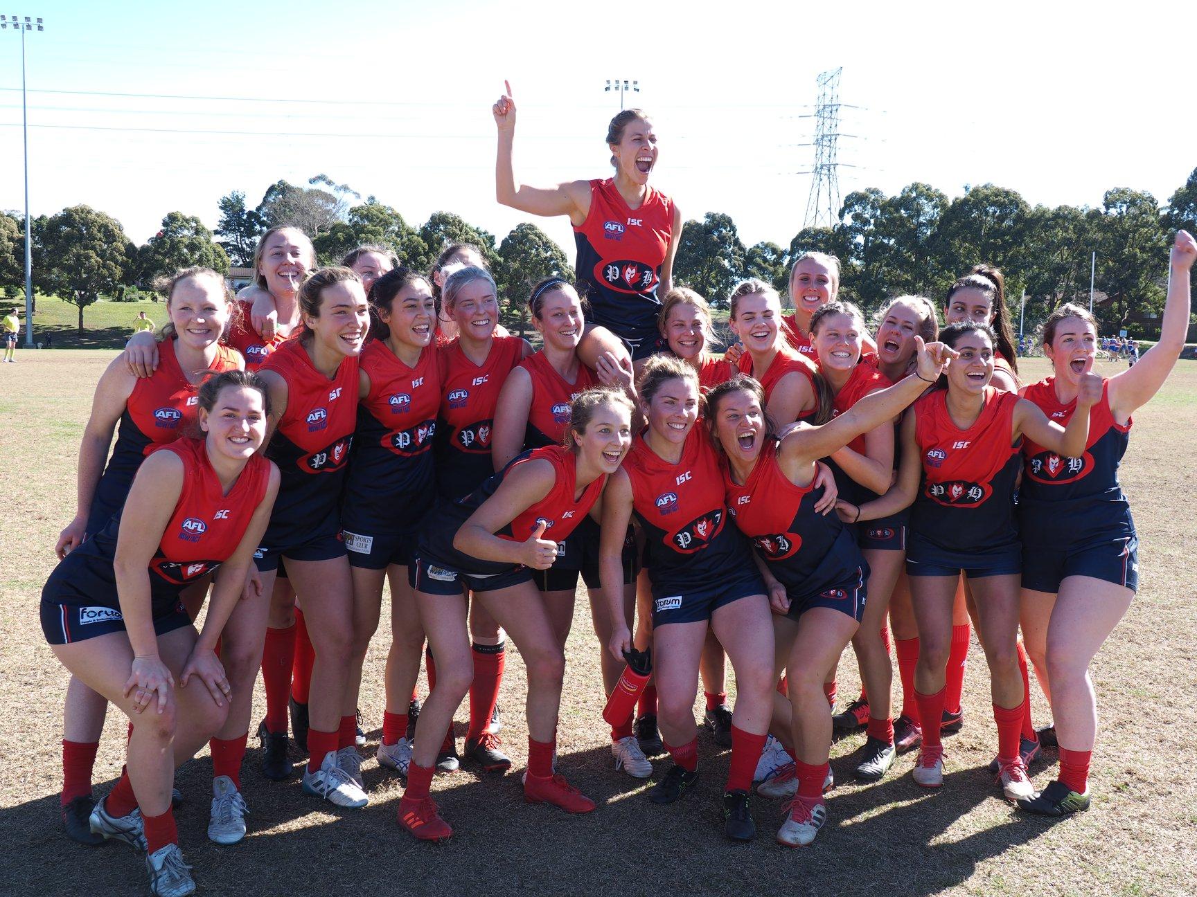 Womens AFL in Sydney Pennant Hills